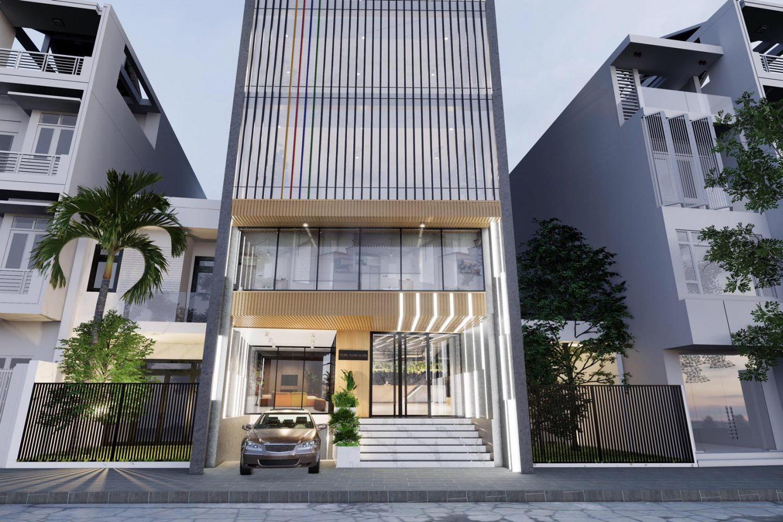 Thiết kế và thi công tòa nhà văn phòng cho thuê tại TP Hồ Chí Minh