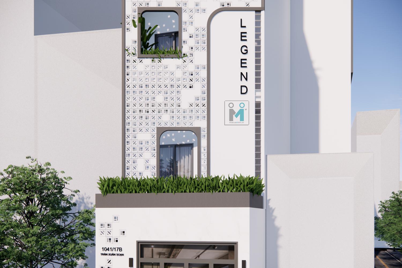 thiết kế và thi công tòa nhà căn hộ cho thuê (1)